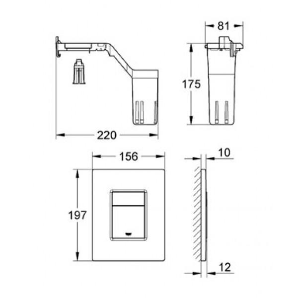 grohe 38805000. Black Bedroom Furniture Sets. Home Design Ideas