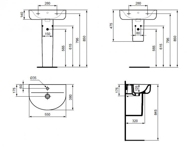 ideal standard e137201. Black Bedroom Furniture Sets. Home Design Ideas